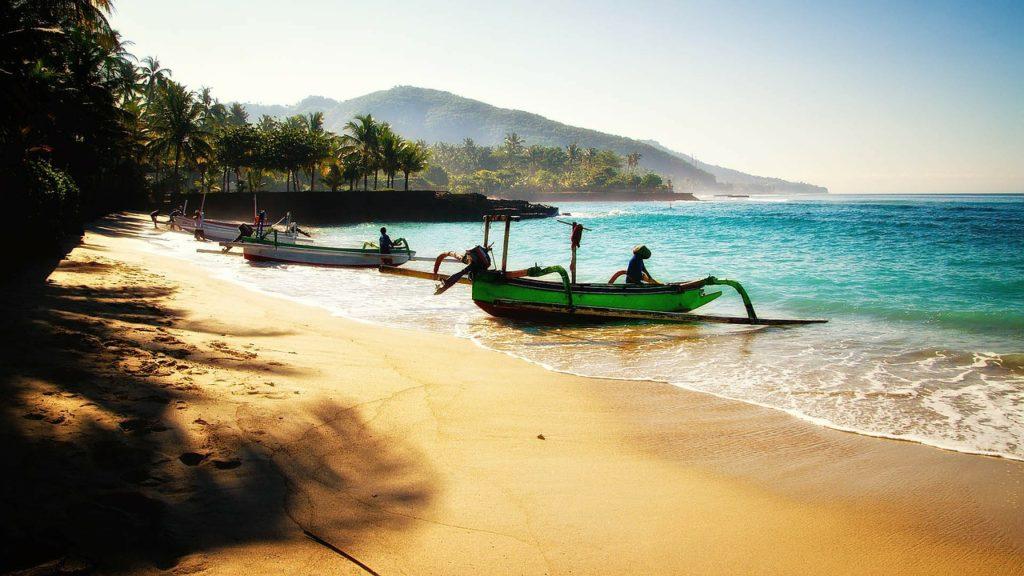 bali beach honeymoon