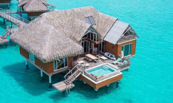 overwater bungalow