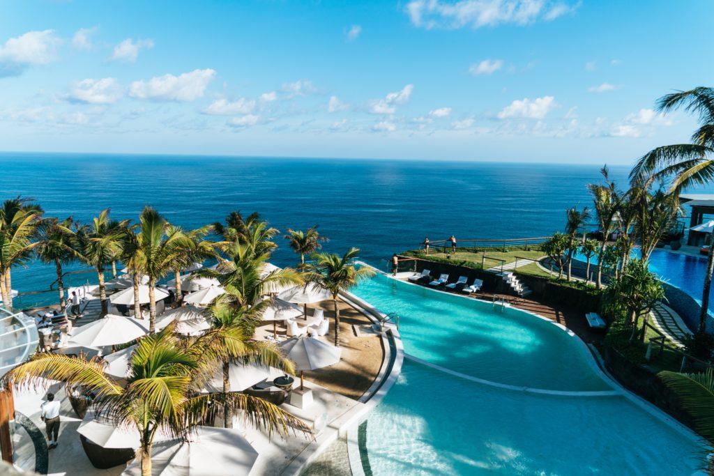 honeymooning at an all-inclusive resort