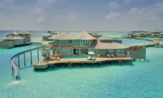 overwater bungalow in the maldives